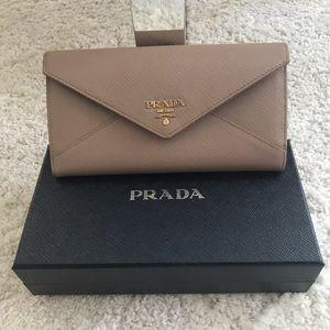 Prada Saffiano Ladies Wallet